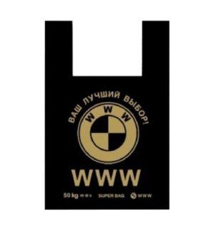 Пакет-майка 43х69 (40мкм), WWW (упак/100шт)